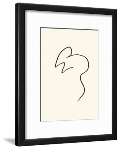The Mouse-Pablo Picasso-Framed Art Print