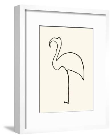 Le Flamand Rose-Pablo Picasso-Framed Art Print