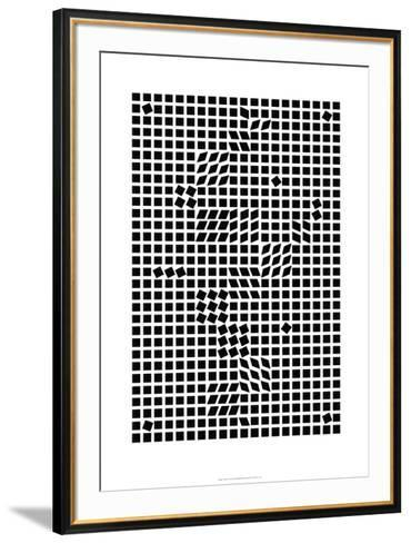 Tlinko, c.1955-Victor Vasarely-Framed Art Print