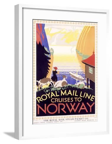 Royal Mail Ocean Line, Norway-Herrick-Framed Art Print