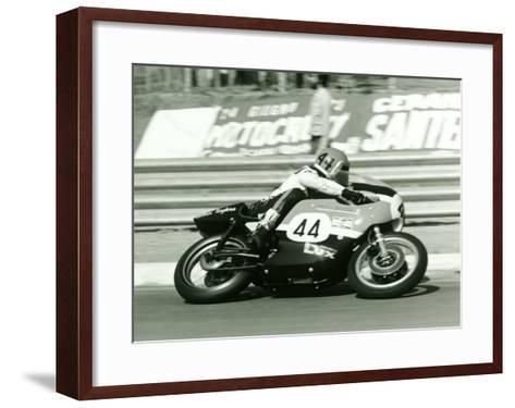 Aermacchi GP Motorcycle--Framed Art Print