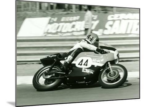 Aermacchi GP Motorcycle--Mounted Giclee Print