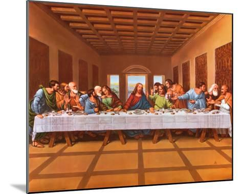 Last Supper-Tobey-Mounted Art Print