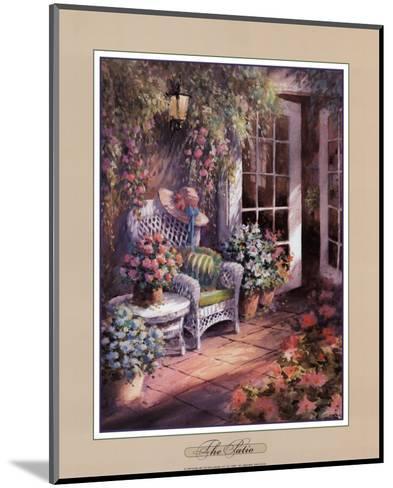 The Patio-George Bjorkland-Mounted Art Print