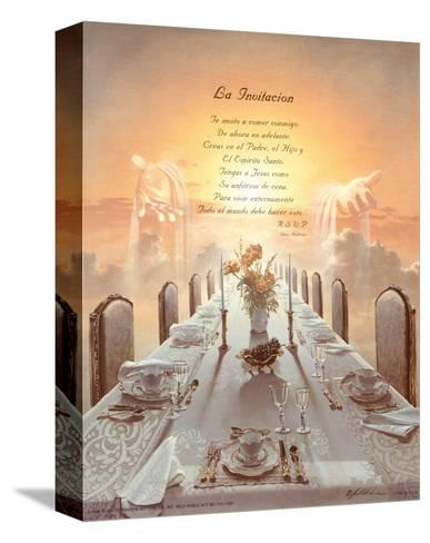 Invitation-Danny Hahlbohm-Stretched Canvas Print