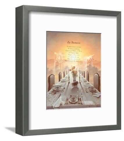 Invitation-Danny Hahlbohm-Framed Art Print