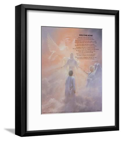 Welcome Home-Danny Hahlbohm-Framed Art Print