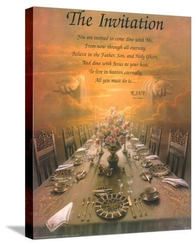 The Invitation-Danny Hahlbohm-Stretched Canvas Print