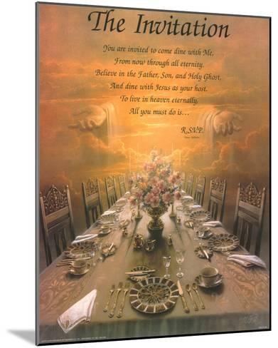 The Invitation-Danny Hahlbohm-Mounted Art Print