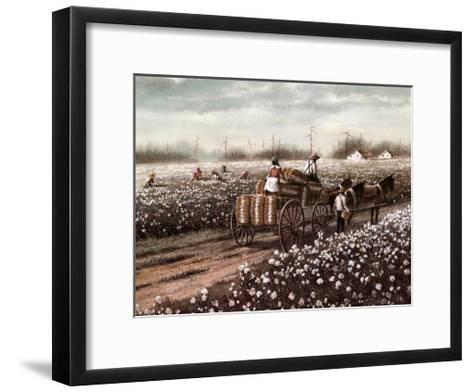 Cotton Pickers--Framed Art Print