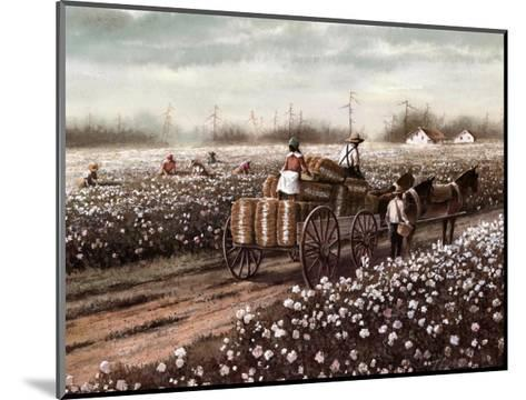 Cotton Pickers--Mounted Art Print