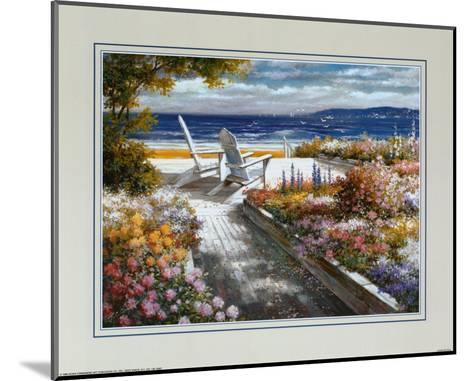 Path with Beach Chairs-T^ C^ Chiu-Mounted Art Print
