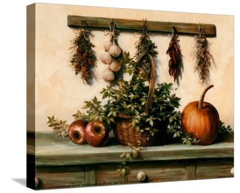 Hanging Dried Herbs-T^ C^ Chiu-Stretched Canvas Print