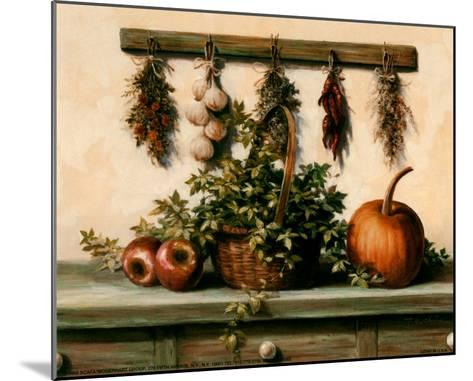 Hanging Dried Herbs-T^ C^ Chiu-Mounted Art Print
