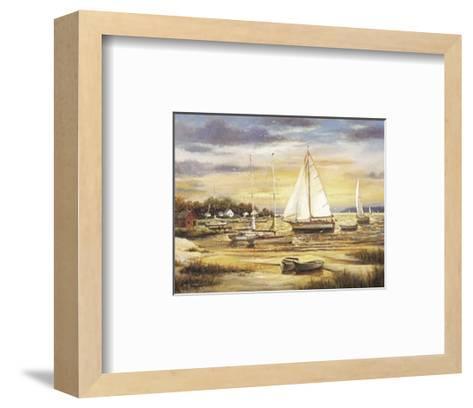Sailboats at the Shore-T^ C^ Chiu-Framed Art Print