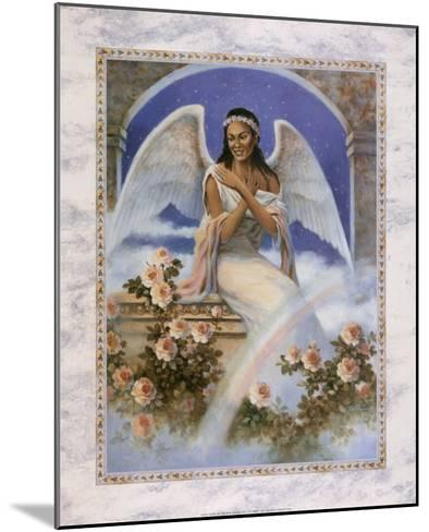 Black Angel with Rainbow-T^ C^ Chiu-Mounted Art Print