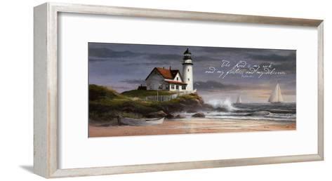 Lighthouse: Dusk-T^ C^ Chiu-Framed Art Print