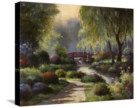 Path to Willow Park-T^ C^ Chiu-Stretched Canvas Print