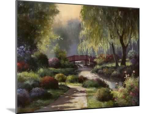 Path to Willow Park-T^ C^ Chiu-Mounted Art Print