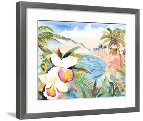 Hawaiian Orchids-Terry Madden-Framed Art Print
