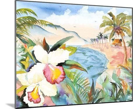 Hawaiian Orchids-Terry Madden-Mounted Art Print