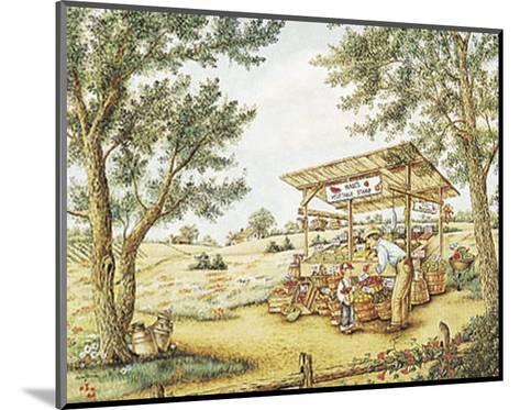 Wade's Vegetable Stand-Kay Lamb Shannon-Mounted Art Print