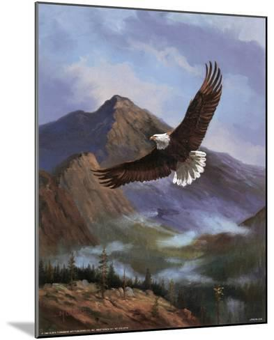 Eagle Gliding-M^ Caroselli-Mounted Art Print