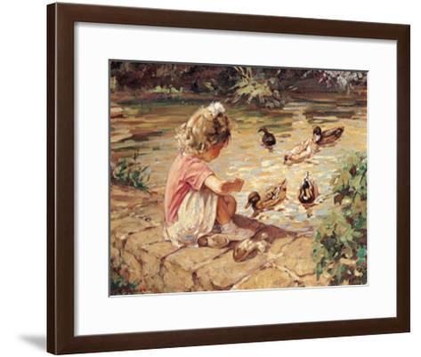 Feeding Time-Paul Gribble-Framed Art Print