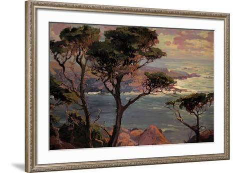 Lonely Headlands, Point Lakes-Franz Arthur Bischoff-Framed Art Print