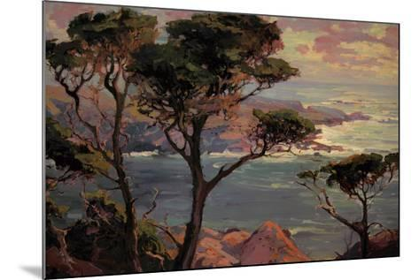 Lonely Headlands, Point Lakes-Franz Arthur Bischoff-Mounted Art Print