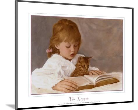 The Lesson-Hillary Hunt Amaro-Mounted Art Print