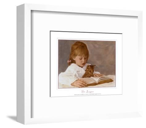 The Lesson-Hillary Hunt Amaro-Framed Art Print