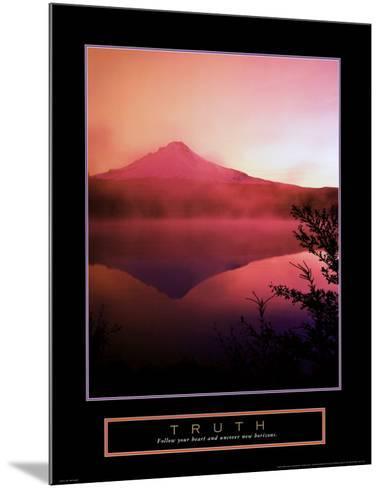 Truth: Misty Mountain--Mounted Art Print