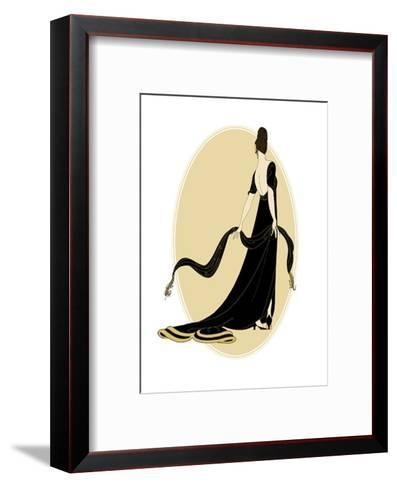 Petite Sophisticated Ladies IV--Framed Art Print