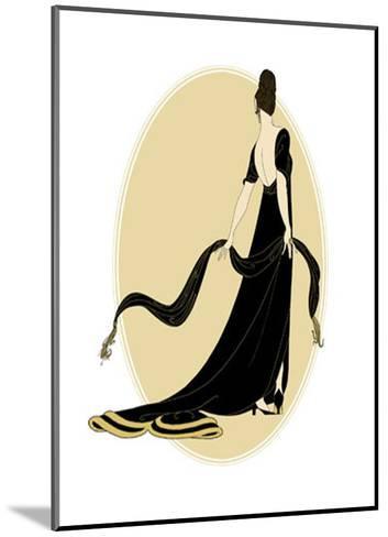 Petite Sophisticated Ladies IV--Mounted Art Print