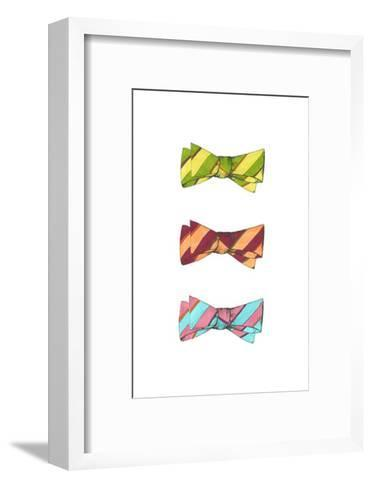Tri Bow IV-Jennifer Goldberger-Framed Art Print