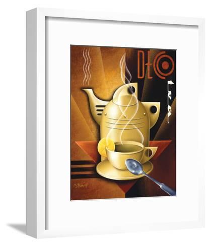 Deco Tea-Michael L^ Kungl-Framed Art Print
