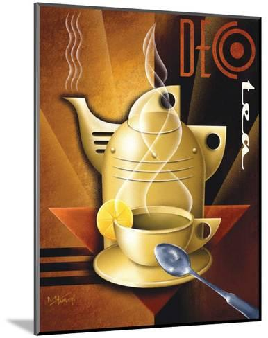Deco Tea-Michael L^ Kungl-Mounted Art Print
