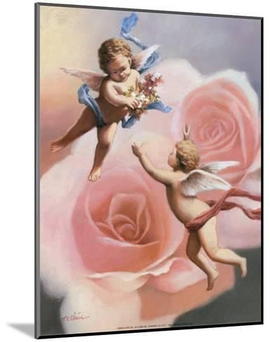 Cherubs' Rose-T^ C^ Chiu-Mounted Art Print