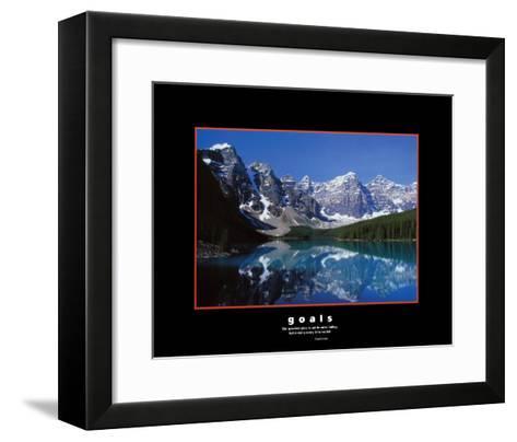 Goals: Dolphins-Craig Tuttle-Framed Art Print