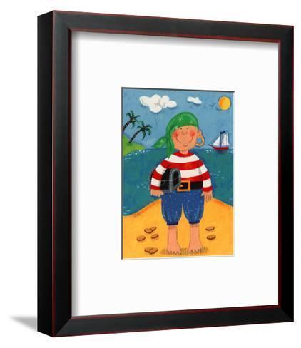 Treasure Island I-Sophie Harding-Framed Art Print