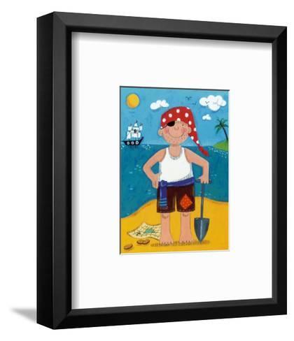 Treasure Island IV-Sophie Harding-Framed Art Print