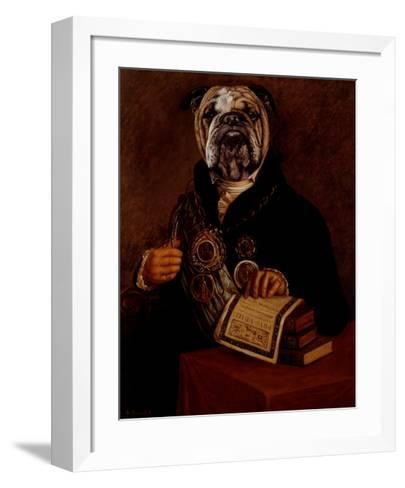 Chains of Office-Thierry Poncelet-Framed Art Print