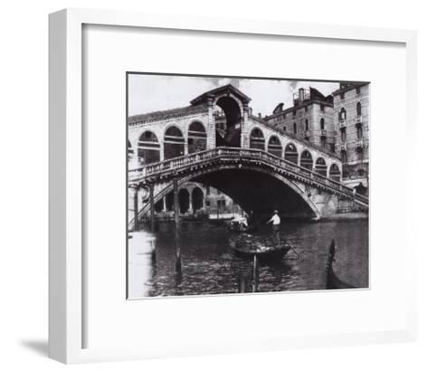 Venetian Waltz VII-Augustine (Joseph Grassia)-Framed Art Print