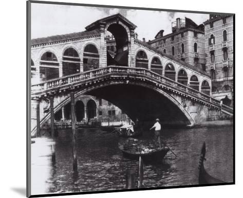 Venetian Waltz VII-Augustine (Joseph Grassia)-Mounted Art Print