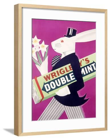 Wrigley's Chewing Gum--Framed Art Print