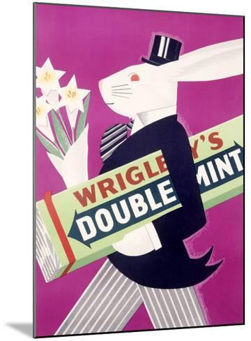 Wrigley's Chewing Gum--Mounted Giclee Print