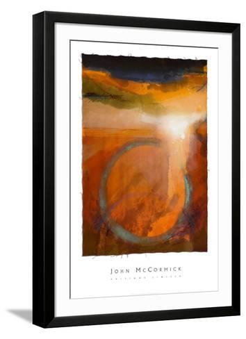 Dancing on the Rim-John McCormick-Framed Art Print