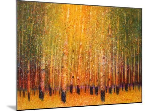 Aspen Glow-Gary Max Collins-Mounted Art Print