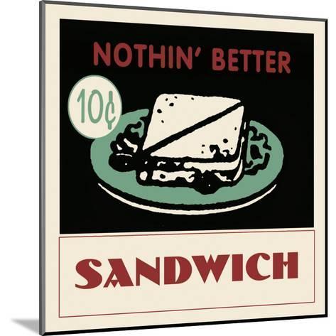 Sandwich--Mounted Art Print